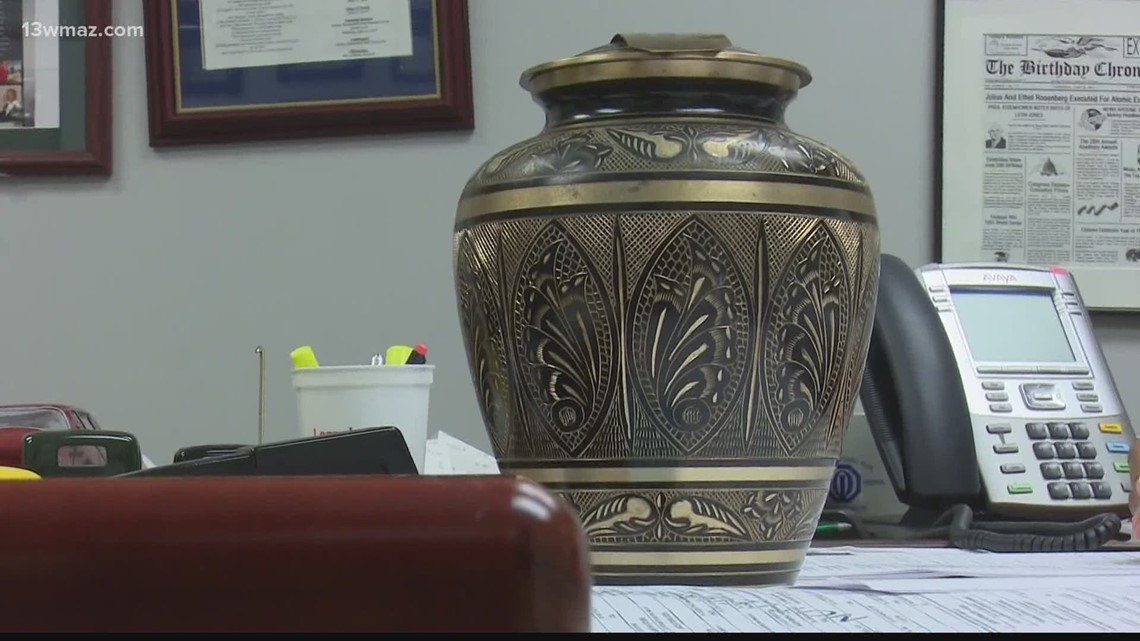 Bibb County coroner looking for owner of urn found in car
