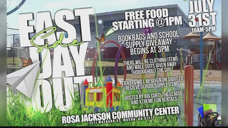 Rosa Jackson Center hosting 'Eastside Day Out' supply giveaway