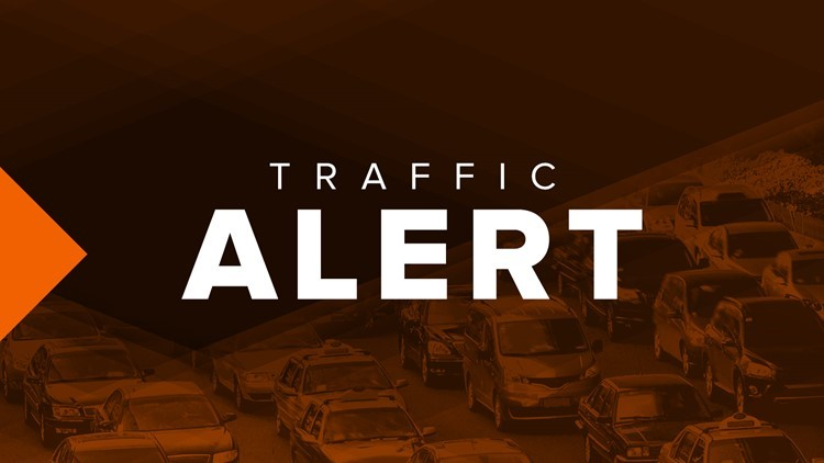 Overturned tractor trailer blocks all lanes on I-16 West in Twiggs County