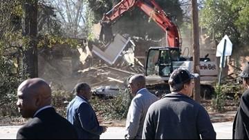 Abandoned homes demolished in effort against blight