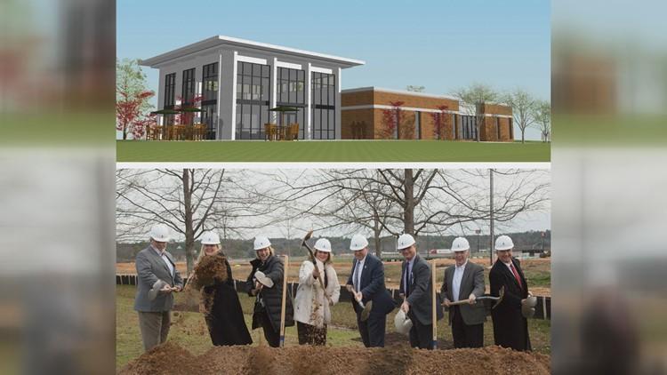 Middle Georgia State breaks ground on new $3 million enrollment center
