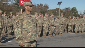 Members of Macon's 48th Brigade return from deployment