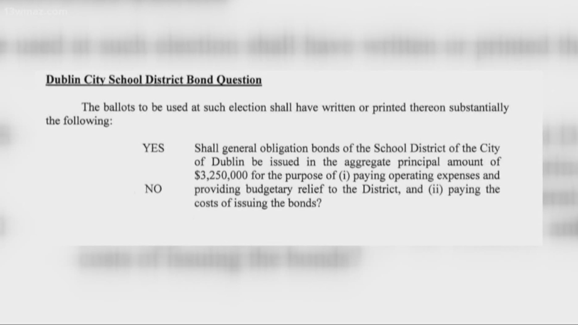 Dublin To Decide On Bond Referendum For Dublin City Schools 13wmaz Com