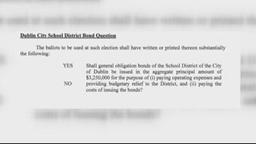 Voters to decide on bond referendum for Dublin City Schools in November