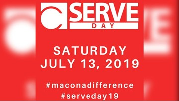 Central Georgians give elementary school face lift for Serve Day 2019