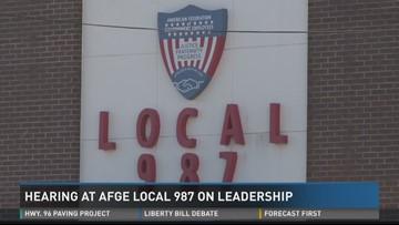 AFGE Local 987 hearing on trusteeship held Thursday | 13wmaz com