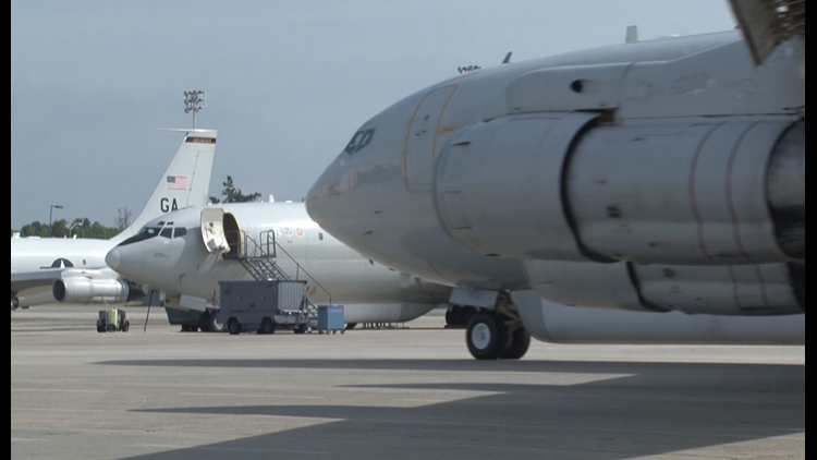 """The Air Force says this would be a """"proof of concept"""" for the Robins Air Logistics Complex, which currently runs depot maintenance programs for other aircraft."""