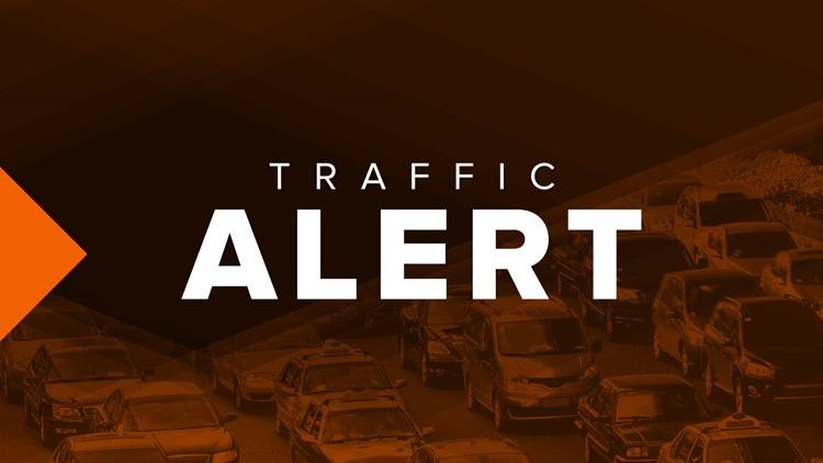 Traffic Alert: Overturned tractor-trailer on I-75 | 13wmaz com