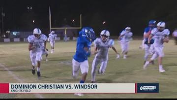 Dominion Christian vs. Windsor 2019 Georgia high school football highlights (Week 8)