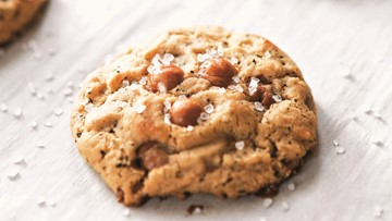Cookie Remix: Salted Caramel Latte Cookies
