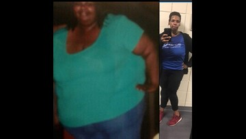 AMPED UP: Macon woman loses 300 pounds for better health