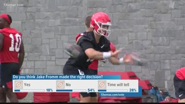 UGA QB Jake Fromm will enter the NFL draft