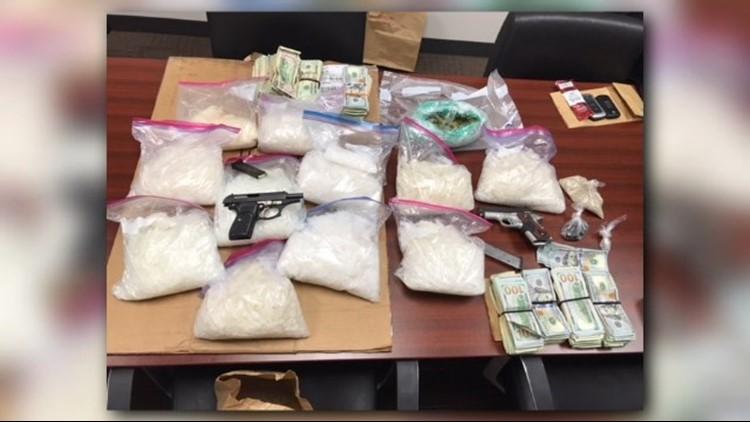 Warner Robins Police seize 21 pounds of meth in major drug