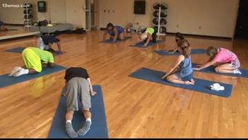 Kids learn to grow veggies, do yoga in summer camp