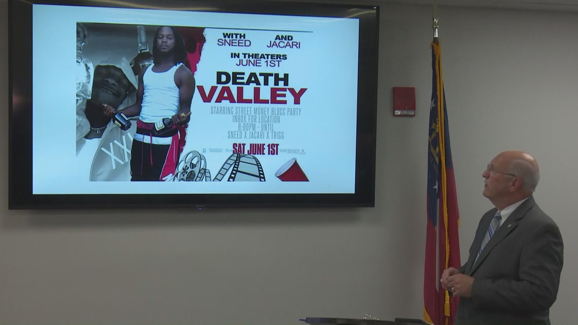 What we know about this weekend's Macon Death Valley party