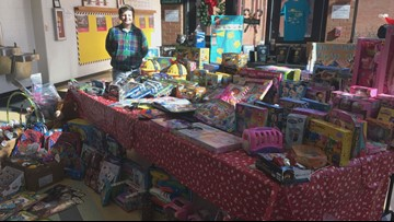 Dodge County student uses own money to donate over 100 gifts to kids in need