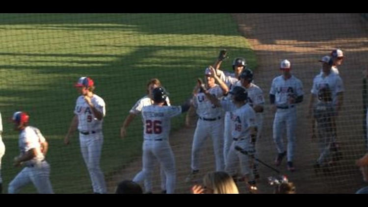 The USA Collegiate national team took the All-Star series as they beat Japan 7-6 on Sunday evening at Luther Williams Field.