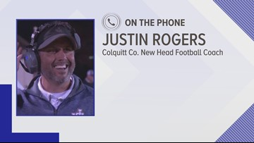 Jones County head football coach Justin Rogers leaves for Colquitt