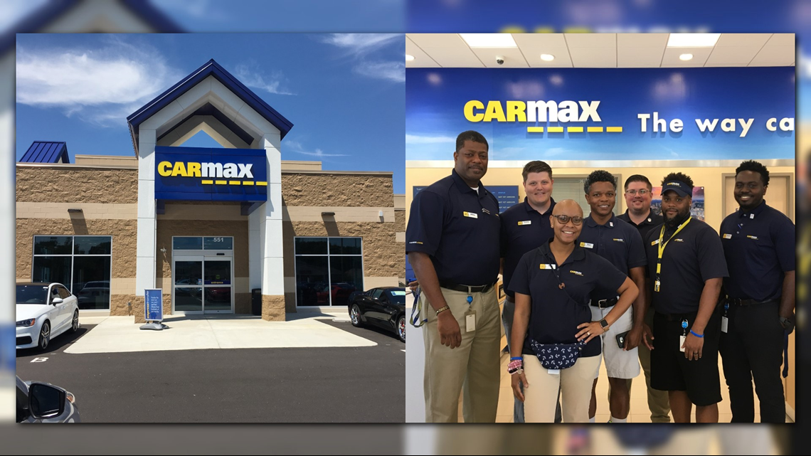 CarMax opens its first central Georgia location in Warner Robins | 13wmaz.com