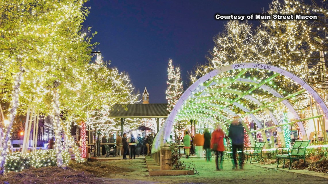 Gas Prices Atlanta >> Annual Christmas light show in downtown Macon plans on doubling in size | 13wmaz.com