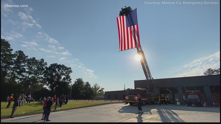 Central Georgians gather to remember those killed on 9/11