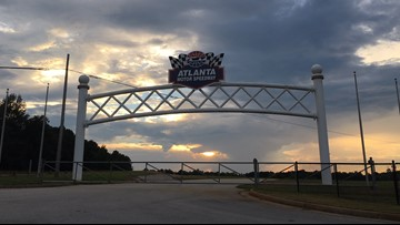 Atlanta Motor Speedway opens campground to Hurricane Michael evacuees