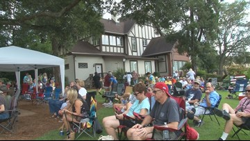 Folks jam out at the Big House for Macon's GABBAfest