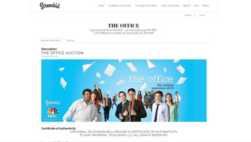 Props from 'The Office' available in auction
