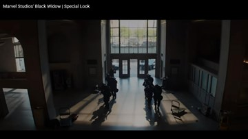 Don't blink! Marvel's new Black Widow trailer features Macon sites