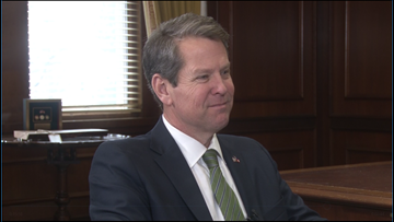 'Georgians First:' Hear from Georgia Gov. Brian Kemp on his goals while in office