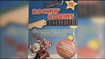 WATCH LIVE | 62nd Annual Warner Robins Christmas Parade