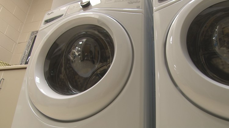 Lakeview Academy in Milledgeville offers free laundry services for parents