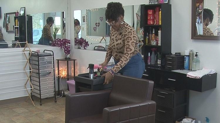 Macon woman opens natural hair salon