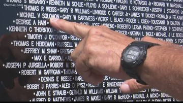 Vietnam Traveling Memorial Wall stops in Warner Robins
