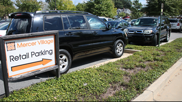 Just Curious: Is there enough parking around Mercer Village?