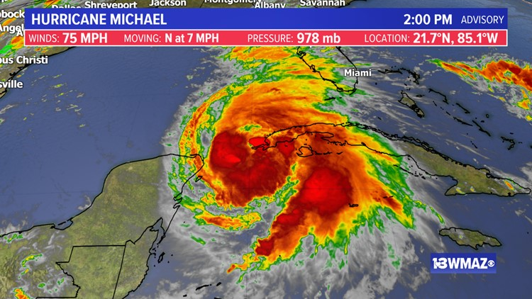Evolving storm Michael expected to slam Florida as hurricane
