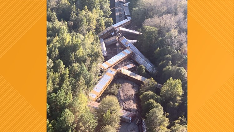 HCEMA train derail