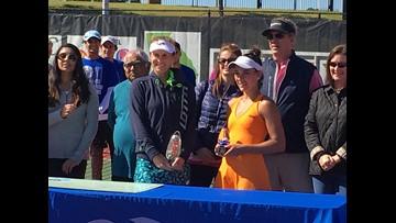 Lepchenko Wins Mercer Tennis Classic