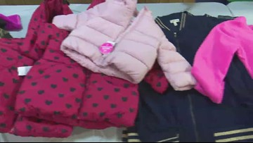 Nonprofit gives hundreds of free coats, shoes to children in Warner Robins