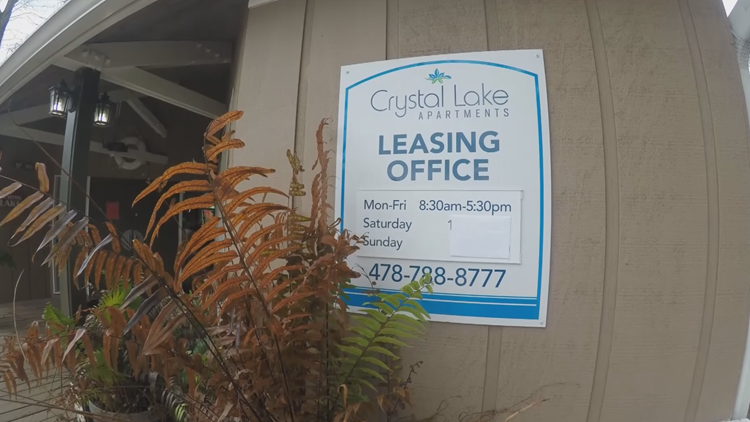 Crystal Lake Apartments leasing office