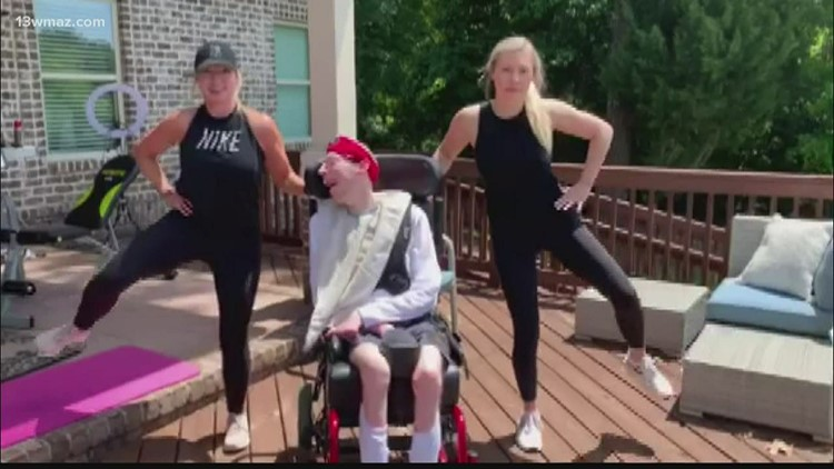 AMPED UP: Warner Robins family stays fit with special needs-inclusive workouts