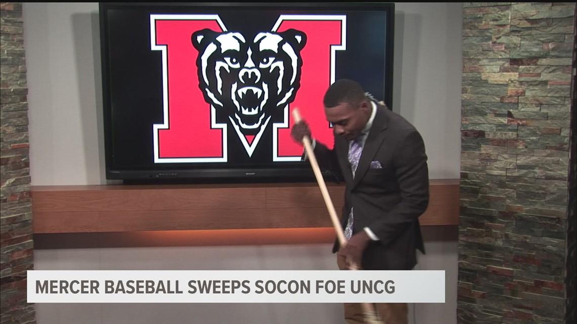 Mercer baseball sweeps UNCG