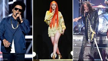 Bruno Mars, Cardi B, Aerosmith to headline music fest at State Farm Arena during Superbowl
