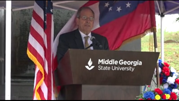 Middle Georgia State University holds Veterans Day ceremony