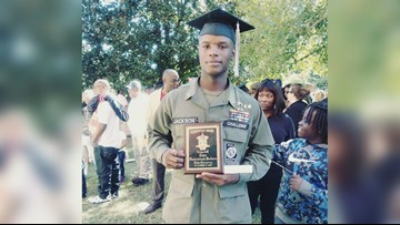 Fort Valley teen completes military academy with leadership award