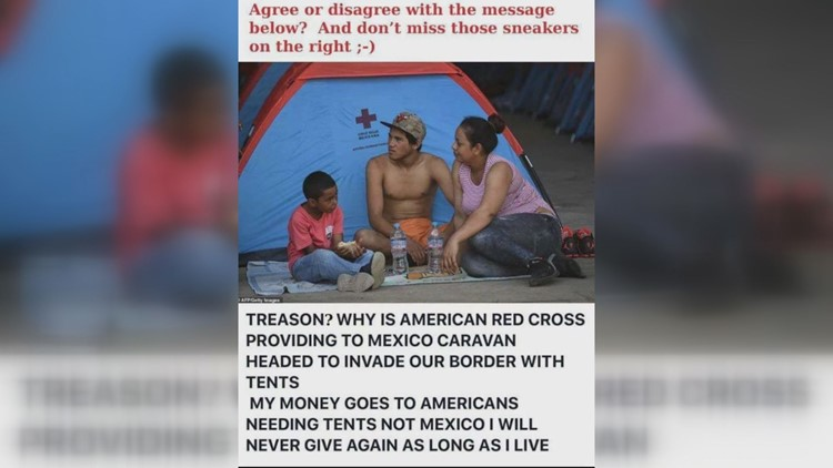 Verify: Are members of the American Red Cross committing treason?