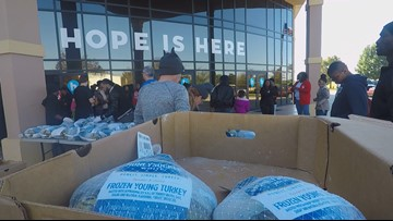 Thousands of people fed at 21st Annual Feed the City in Fort Valley