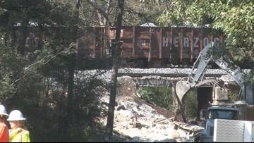 Crews continue cleanup after massive CSX train derailment in Byromville
