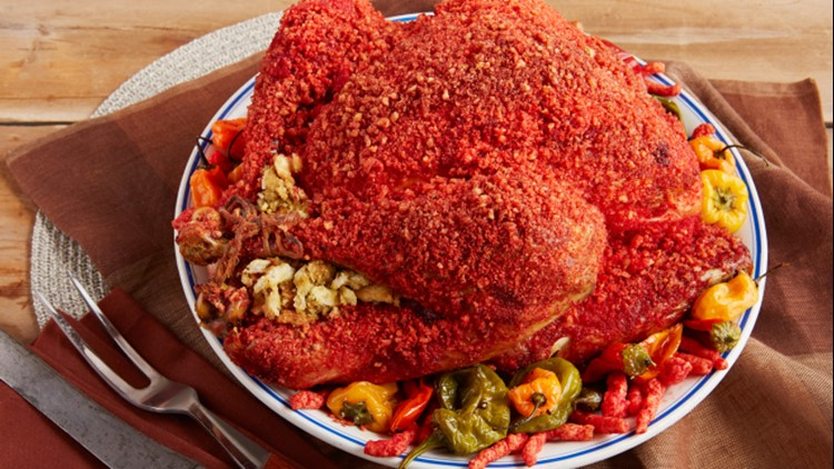 Hot Cheetos turkeys are a real thing