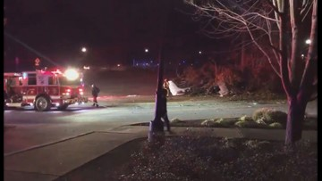 Plane crashes on Kennesaw State University campus